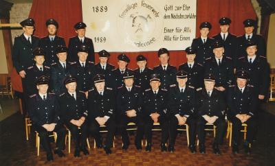 Foto zur Meldung: Vor 30 Jahren: 100 Jahre Freiwillige Feuerwehr Schmalensee