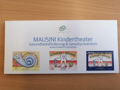 """Foto zur Meldung: Klassen 1a und 1b besuchten das """"MAUSINI Kindertheater"""""""