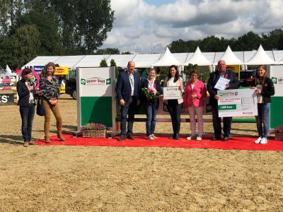 Siegerehrung auf dem Bundeschampionat in Warendorf