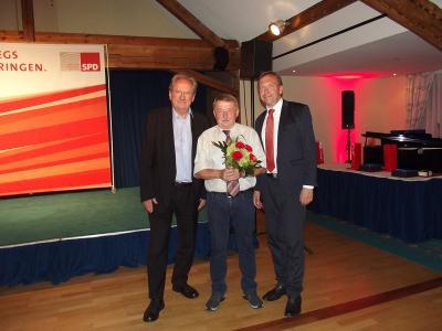 Foto zur Meldung: Hermann-Brill-Preis für Erhard Freitag aus Gräfenroda