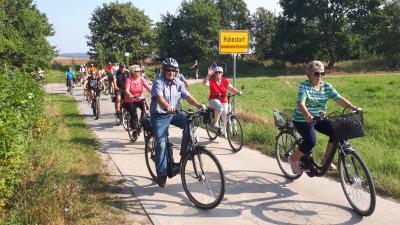 """Foto zu Meldung: Tour durch die """"Schweiz"""" offenbart Schwachstellen im Radwegnetz"""