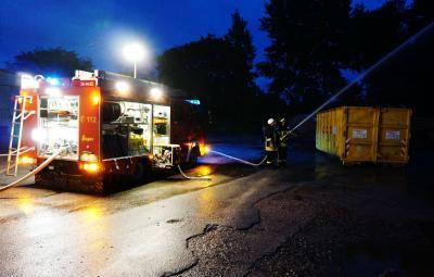Foto zur Meldung: Feuer auf Stockseehof war eine Übung