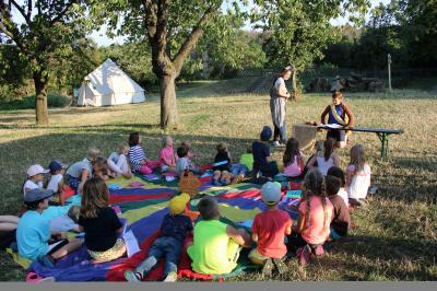 Vorschaubild zur Meldung: Bericht vom Kindercamp des Kirchenkreises
