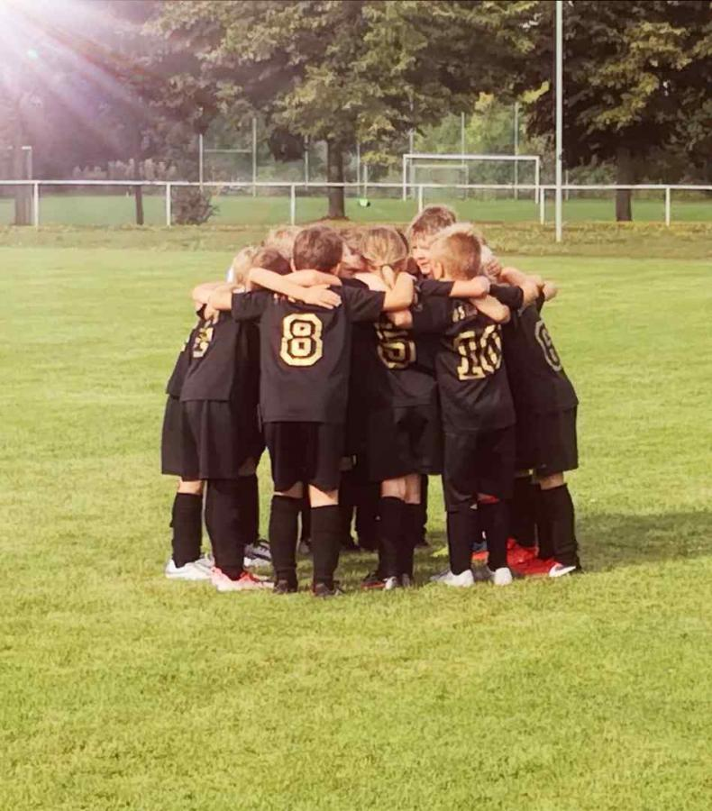 Bild der Meldung: F-Junioren / Erster Sieg für unsere Kleinsten