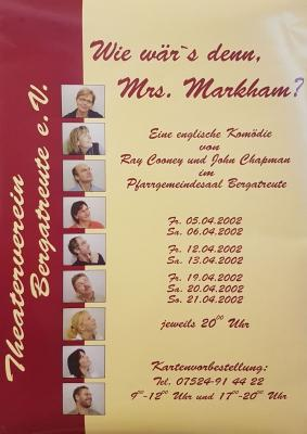 """Wie wär's denn, Mrs. Markham?"""
