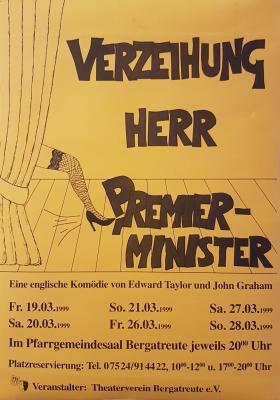 """""""Verzeihung Herr Premierminister"""""""