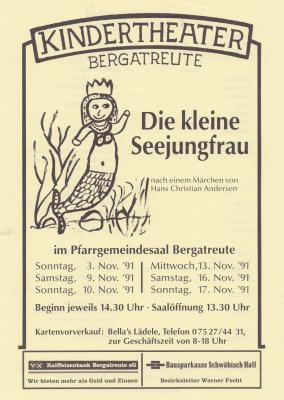 """""""Die kleine Seejungfrau"""""""