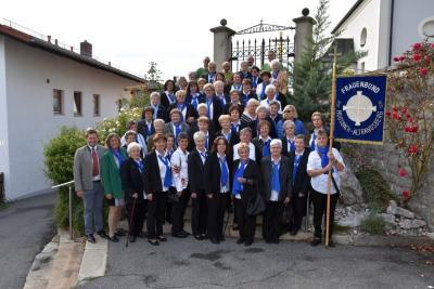 Foto zur Meldung: Der Kath. Frauenbund Moosbach Altrandsberg feierte 40-jähriges Jubiläum