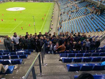 Foto zur Meldung: U13 & U15 der JSG Aue Wrestedt live beim EM Qualifikationsspiel in Hamburg