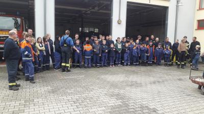Vorschaubild zur Meldung: Berufsfeuerwehrtag der Jugendfeuerwehren der Stadt Rheinsberg