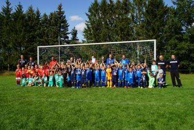Tolles Erlebnis für die kleinen Fußballer