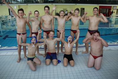 Foto zur Meldung: Wasserball U14 Pincher-Pokal in Plauen