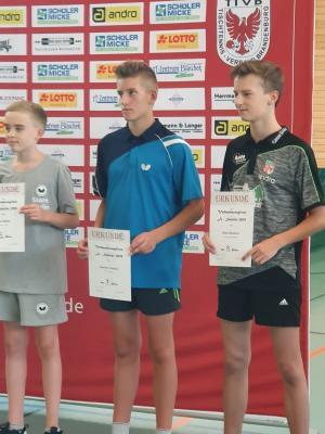 Vorschaubild zur Meldung: Tischtennis-Nachwuchs bei der Verbandsrangliste