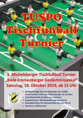 Plakat Kicker Turnier