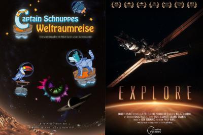 Vorschaubild zur Meldung: Zwei neue Planetariumsshows