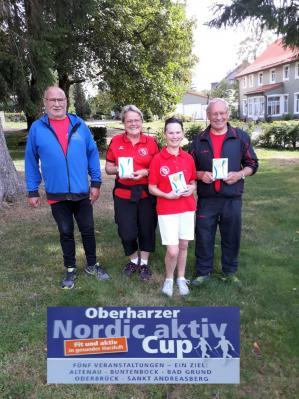 Foto zur Meldung: Nordic Walking Classic beim 5. Oberharzer Nordic aktiv Cup