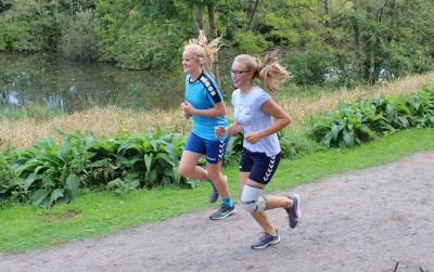 Foto zur Meldung: Schüler laufen für eine bessere Umwelt
