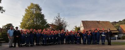 Vorschaubild zur Meldung: Die Jugendfeuerwehren der Gemeinde Poppenhausen im Wettstreit