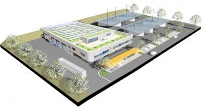 Foto zur Meldung: Neubau des Havelbus-Betriebshofes in Falkensee