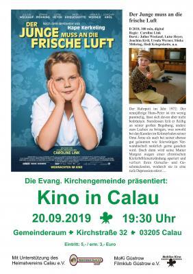 """Foto zur Meldung: Kino in Calau: """"Der Junge muss an die frische Luft"""""""