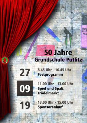 Vorschaubild zur Meldung: 50 Jahre Schule Putlitz