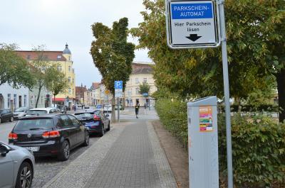 Foto zur Meldung: Schulwegsicherung: Weiterer Parkscheinautomat aufgestellt