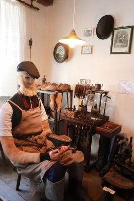 Schusterecke im Calauer Heimatmuseum
