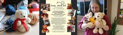 Vorschaubild zur Meldung: Wir stricken fürs Teddybär-Krankenhaus