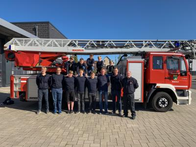 Besuch der Feuerwache Steinfurt-Borghorst