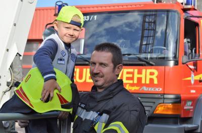 Foto zur Meldung: Feuerwehr mit Gesicht - Rico Lenz