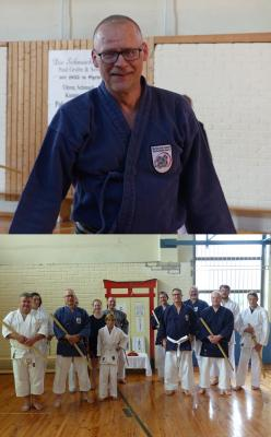 Vorschaubild zur Meldung: Kenjutsu-Lehrgang in Egeln