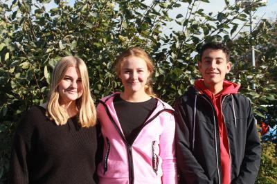 Foto zur Meldung: Neue Schülersprecher/innen an der EKS
