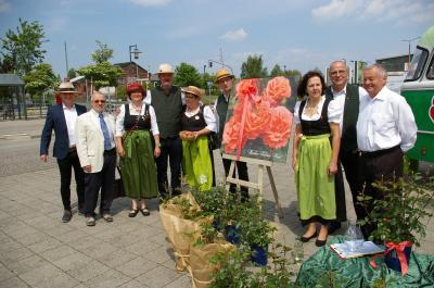 Vorschaubild zur Meldung: Blick auf das Laga-Jahr: Stammtisch der Rosenfreunde ist öffentlich