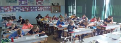 Foto zur Meldung: Schulstufe der 59. Mathematikolympiade