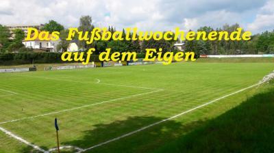 Vorschaubild zur Meldung: Das Fußballwochenende( 28.09.- 30.09.2019) auf dem Eigen