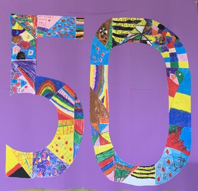 Vorschaubild zur Meldung: Schulfest zum 50 jährigen Jubiläum