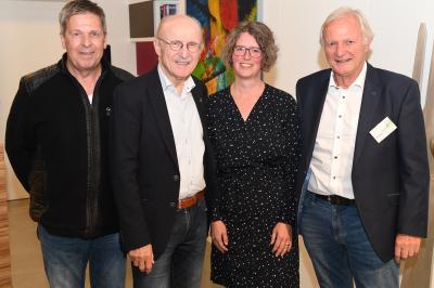 """Foto zur Meldung: Willi Lemke in Wedel bei """"Fredenbeck trifft...."""""""
