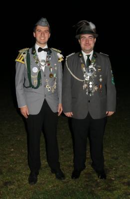 Vizekönig Sebastian Wiegers mit seinem Adjutanten Henrik Martens