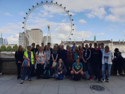 Vorschaubild zur Meldung: Klassenfahrt nach England