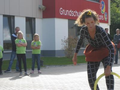 Hula-Hoop-Artist Solana