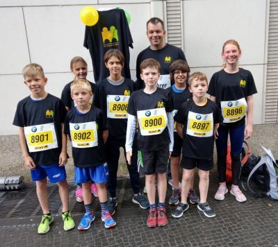 Mini-Marathon-Laufgruppe 2019
