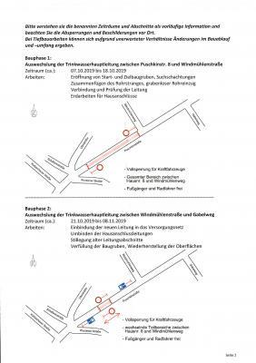Vorschaubild zur Meldung: Baustelleninformation Puschkinstraße