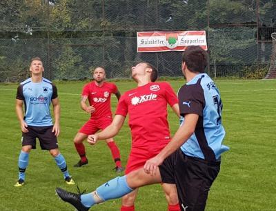 Vorschaubild zur Meldung: Fussball (Bezirksliga) - Intensives Spiel / Unentschieden gegen die SG Herzogsweiler-Durrweiler
