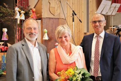 Vorschaubild zur Meldung: Christine Rieg geht in den Ruhestand