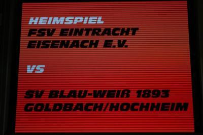Vorschaubild zur Meldung: Hb-M: FSV Eintracht Eisenach - SV BW Goldbach/Hochheim II