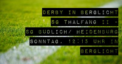 Vorschaubild zur Meldung: Punkte verschenkt gg. Tabellendritten/ Derby gg. Thalfang II