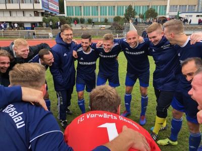 Vorschaubild zur Meldung: Landesliga SG Quelle Fürth - FC Vorwärts Röslau 1:3 (1:2)