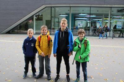 Foto zur Meldung: Wasserball Kadertest in Zwickau