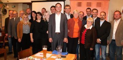 Vorschaubild zur Meldung: CSU nominiert Stadtratskandidaten