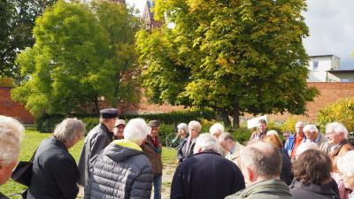 Foto zur Meldung: Fontane-Exkursion nach Neuruppin - ein schöner Ausflug, trotz der Staus...